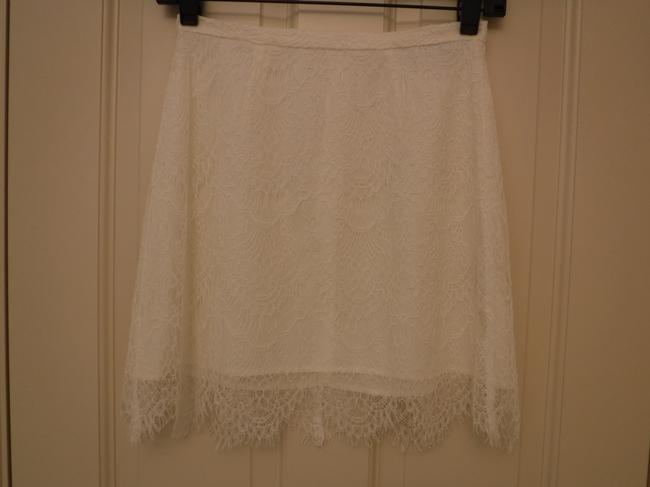 cupcakes and cashmere Lace Mini Skirt White Image 5