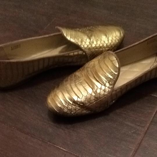 Brian Atwood Gold Flats