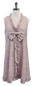 Marc by Marc Jacobs short dress Lilac Floral Lace on Tradesy
