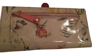 Ted Baker Ted Baker London Floral Print Leather Matinee Purse Wallet