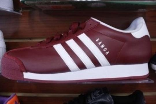 adidas Very Unique Color. Maroon/White Athletic