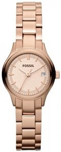 Fossil Fossil ES3167 Archival Mini Stainless Steel Rose Tone Watch