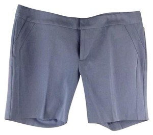 ecru Dress Shorts Blue