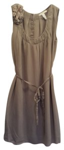 Banana Republic short dress Beige on Tradesy