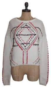 Anthropologie Knit Crochet Sweater