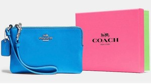 Coach Wristlet in Azure (Blue)