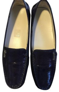 Gucci Driving Loafer Moccasins City Purple Flats