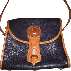 Dooney & Bourke Black/Brown Messenger Bag