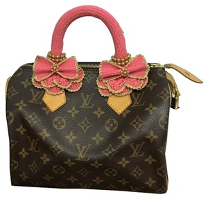 Other Handmade Handle Covers For Louis Vuitton Speedy Alma trouville montaigne Deauville Crochet Pink