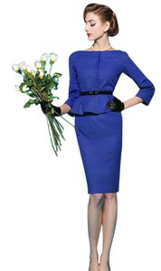 Hitch Retro Vintage Suit Office Skirt Suit Dress