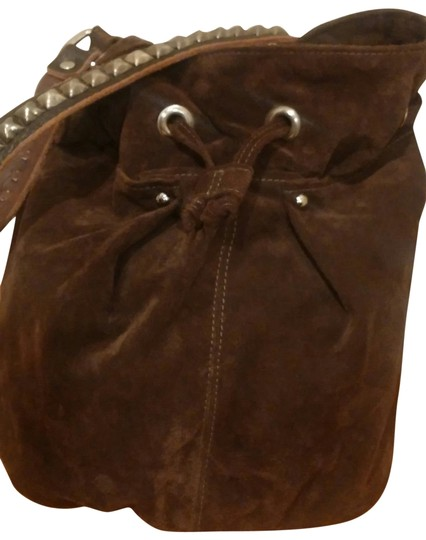 Preload https://item3.tradesy.com/images/tylie-malibu-chocolate-brown-suede-with-leather-strap-shoulder-bag-167712-0-1.jpg?width=440&height=440