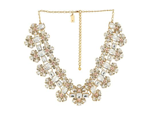 Kate Spade Wedding Perfect NWT Kate Spade Crystal Arches Statement Necklace MSRP$348