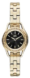 A|X Armani Exchange A/X Armani Exchange AX4257 Petite Black Dial Gold-tone Watch