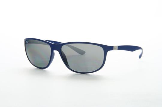 Ray-Ban New Ray Ban RB 4213 6161/88 61 Liteforce Matte Blue Mirrored Image 2