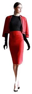 Hitch Red high-end retro dress career suit
