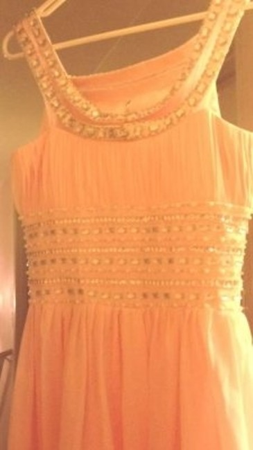 Abercrombie & Fitch Prom Homecoming Elegant Sparkly Beading Pearls Prom Homecoming Off The Shoulder Dress