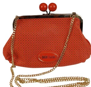 Just Cavalli Orange Clutch