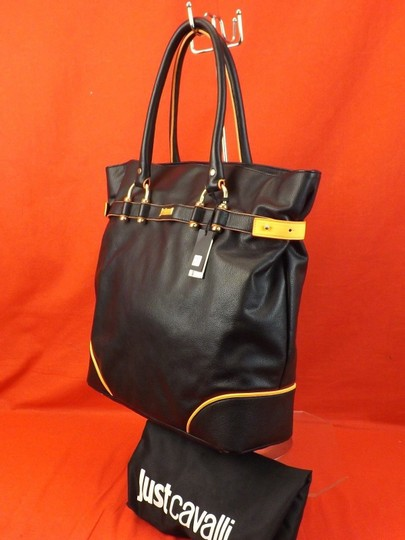 Just Cavalli Tote in Black Image 1