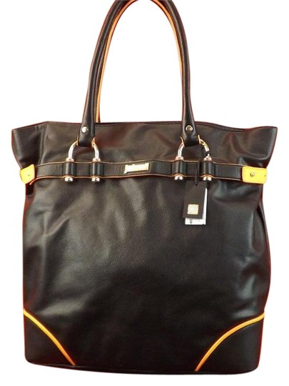 Just Cavalli Tote in Black Image 4