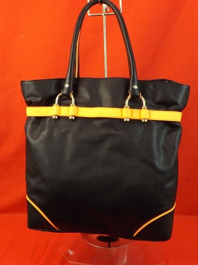 Just Cavalli Tote in Black Image 7