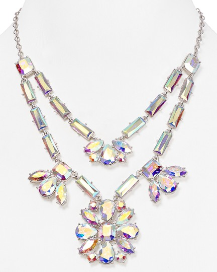 Kate Spade Kate Spade Ethereal & Heavenly Capital Glow Statement Necklace Msrp$298