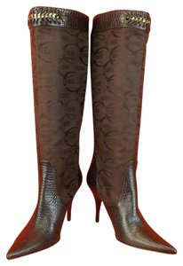 Just Cavalli Brown Boots
