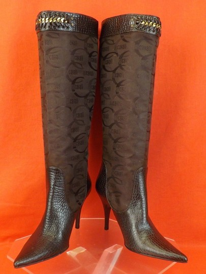 Just Cavalli Brown Boots Image 10