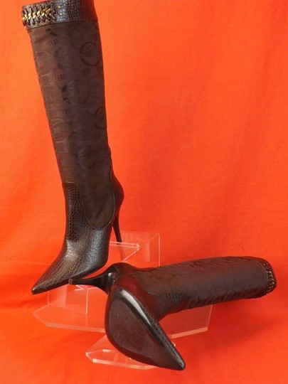 Just Cavalli Brown Boots Image 2
