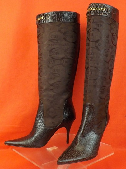 Just Cavalli Brown Boots Image 3