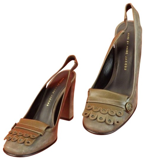 Marc by Marc Jacobs Gray Pumps Image 9