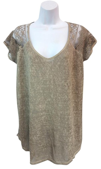 Preload https://img-static.tradesy.com/item/16774015/made-in-italy-lace-black-taupe-m-blouse-size-10-m-0-2-650-650.jpg