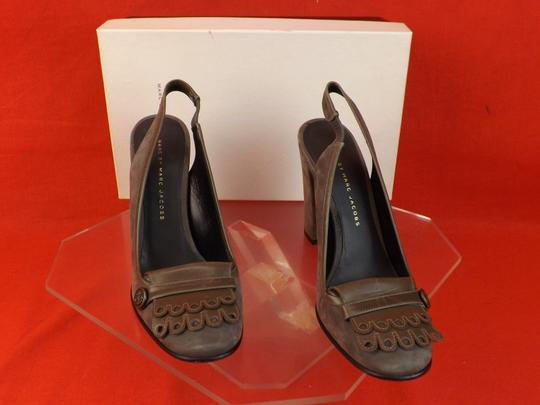 Marc by Marc Jacobs Gray Pumps Image 4