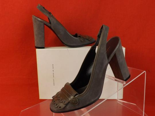 Marc by Marc Jacobs Gray Pumps Image 1