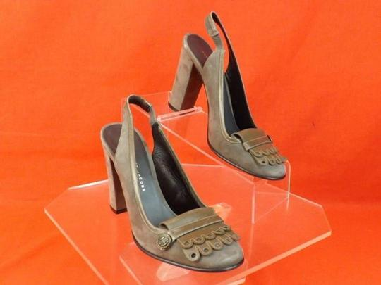 Marc by Marc Jacobs Gray Pumps Image 11