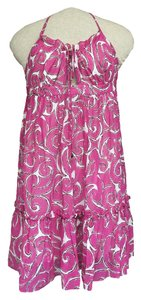 MILLY short dress Pink on Tradesy