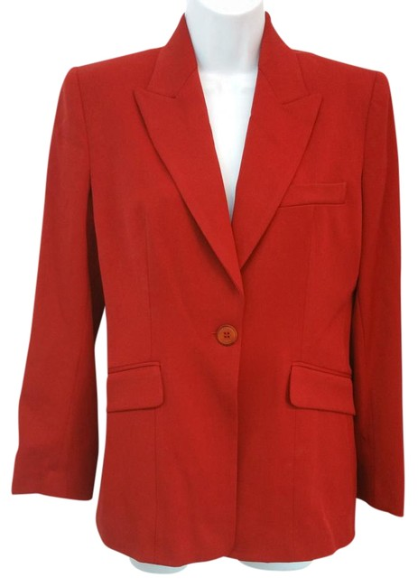 Vertigo Paris Red Jacket Blazer Image 0