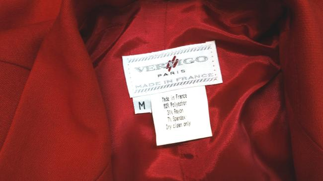 Vertigo Paris Red Jacket Blazer Image 3
