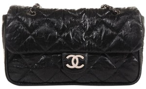 Chanel Jumbo Le Marais Classic Flap Coated Canvas Cc Logo Shoulder Bag