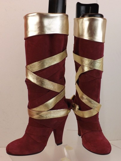 Marc Jacobs Red Boots Image 1