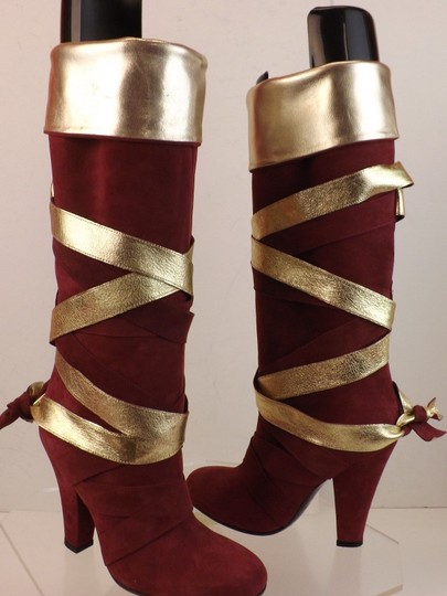 Marc Jacobs Red Boots Image 3