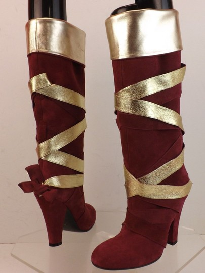 Marc Jacobs Red Boots Image 4