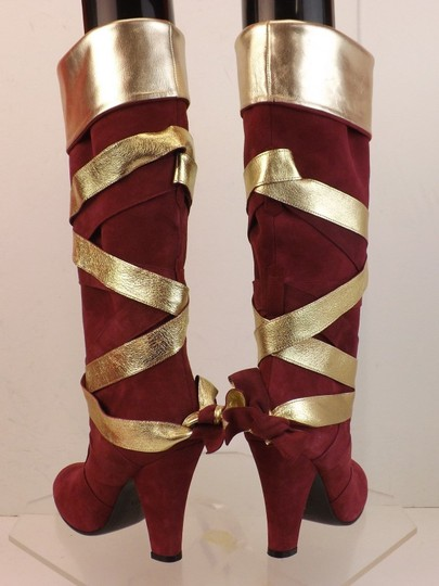 Marc Jacobs Red Boots Image 5