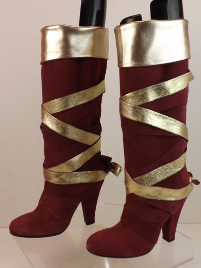 Marc Jacobs Red Boots Image 9
