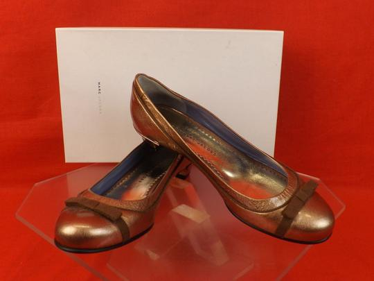 Marc by Marc Jacobs Bronze Flats Image 1
