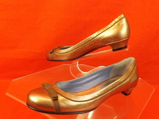 Marc by Marc Jacobs Bronze Flats Image 8