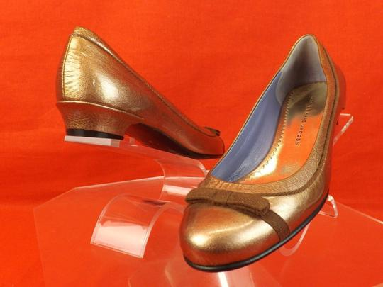 Marc by Marc Jacobs Bronze Flats Image 9