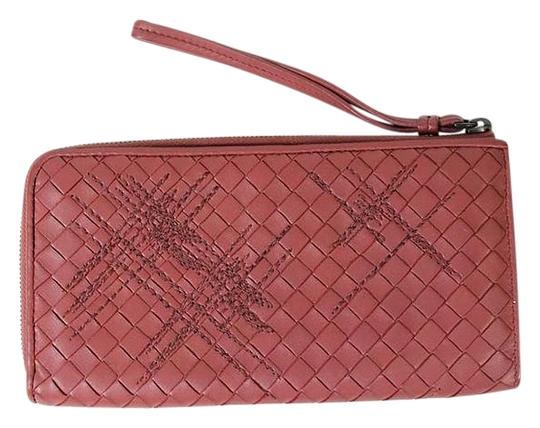 Preload https://img-static.tradesy.com/item/16774783/bottega-veneta-pink-zip-around-intrecciato-nappa-leather-wallet-0-1-540-540.jpg