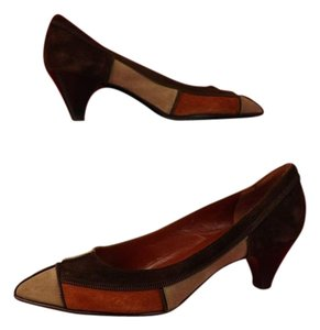 Marc Jacobs Brown, Tan,Rust Pumps