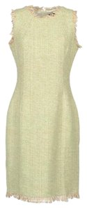 Charlotte Russe short dress Green tweed Fringe Edges on Tradesy