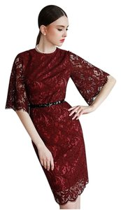 Hitch Retro Vintage Suit Lace Dress